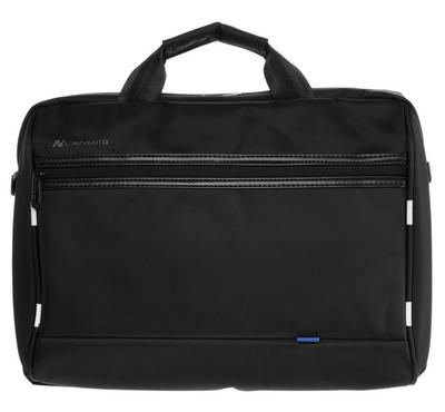 Lavvento Laptop Bag, Black, Fit Up to 15.6 inch, designed in Paris, Easy to carry, light weight case