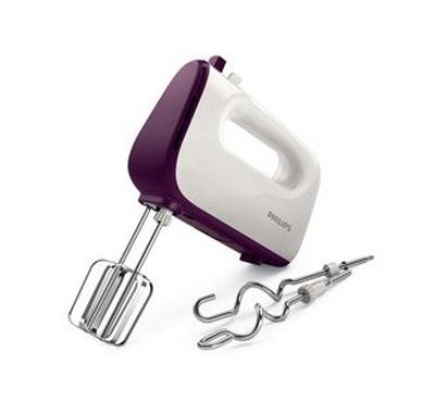 Philips VIVA COLLECTION Hand Mixer 450W Purple/White