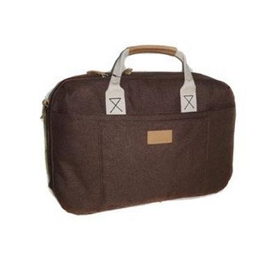 Lavvento Laptop Bag - Grey, Fit up to 15.6 inch Linen material