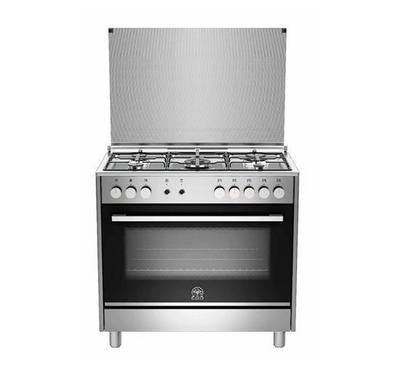 La Germania Futura M9S D Cooker, 90X60, Stainless Steel, 5 Burner