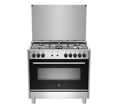 La Germania Americana M9S D 90x60, Cooker Steel, 5 Burner