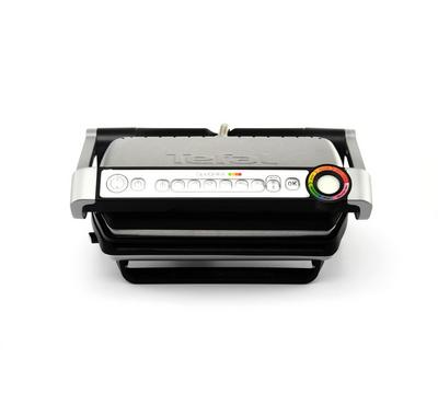 Tefal OptiGrill Plus , 6 Cooking Programs ,Electrical Cooking and Barbecue Grill, 2000W,Silver