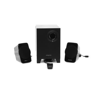 CREATIVE SBS A120 2.1 Speaker, Black