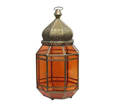 Moroccan Lantern Metal Gold