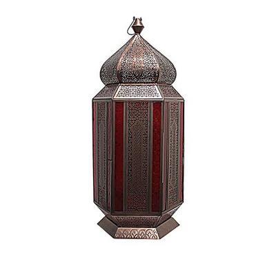 Moroccan Lantern Metal Copper