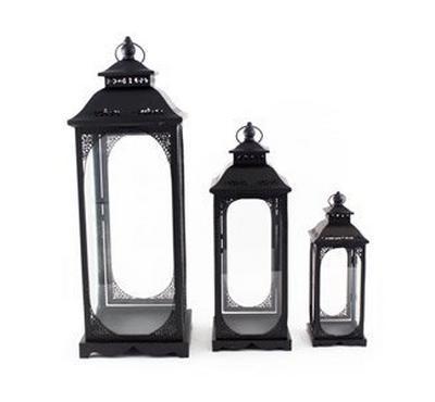 Lantern Iron Black&White