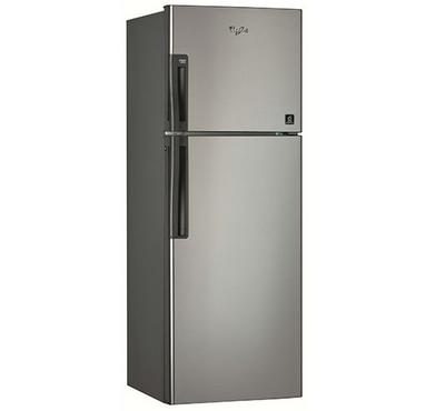 Whirlpool 290.0L Fridge Top Mount Freezer 2 Doors Silver