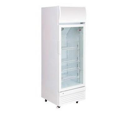 Nikai 240 Ltrs Showcase Chiller White