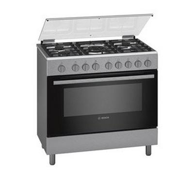 Bosch Free-standing Cooker Stainless Steel