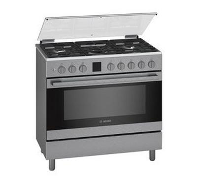 Bosch Free Standing Cooker Stainless Steel