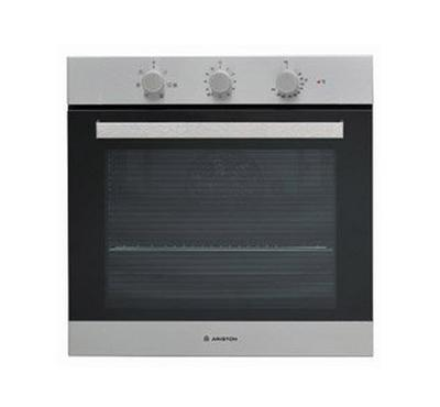 Ariston 60CM 66 Ltr Built in Oven, Full Electric, 5 Functions, Anti fingerprint, Inox