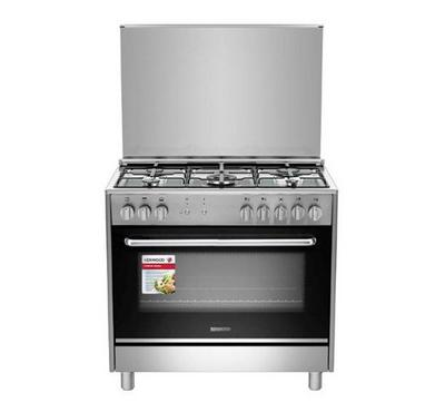 Kenwood 90x60cm Gas Cooking Range Full Safety Stainless
