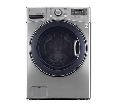 LG Washer 18kg, Dryer 10kg, Combo, Front Load, Stainless Steel.