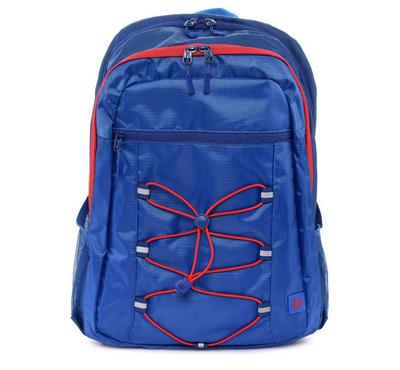HP 15.6 Active Backpack, Marine Blue/Coral Red