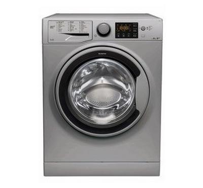 Ariston Natis Front Load Washer, 8KG, Silver