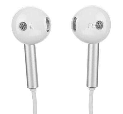 Earphone, Stereo with MIC,LRGM,White