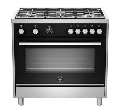 La Germania Futura, Cooker 90X60, Cast Iron, 5GB, Oven Electric with 2Fan