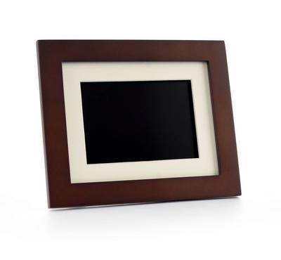 Pandigital 8 inch Digital Photo Frame Wooden