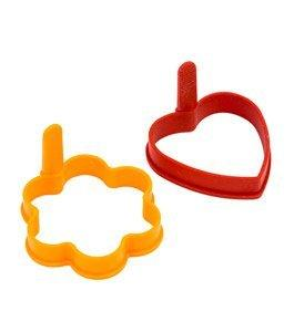 Chef Classic Egg Rings Set of 2Pcs, ASS. Colors