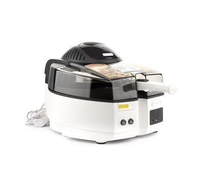 Delonghi, Multifry Cooker, 1.5Kg, 1400W, Black & White