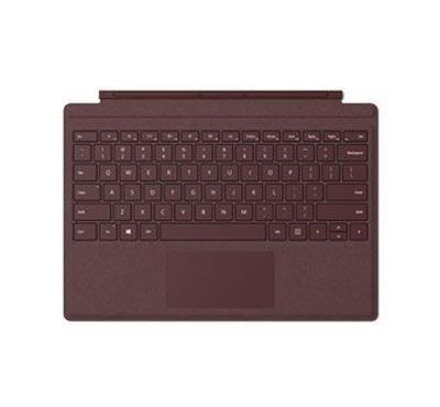 Microsoft Surface Pro Signa Type Cover - Burgundy, Arabic Qatar/Saudi/UAE Hdwr