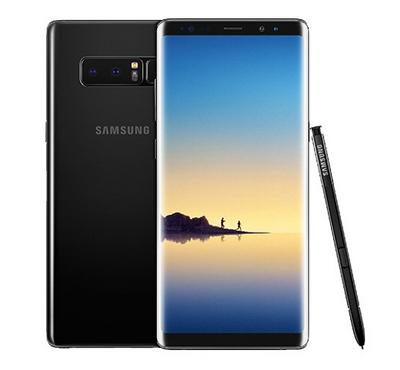 Samsung Galaxy Note 8, 64GB, Midnight Black