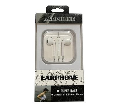 Remax Mobile Earphone With Volume Control White