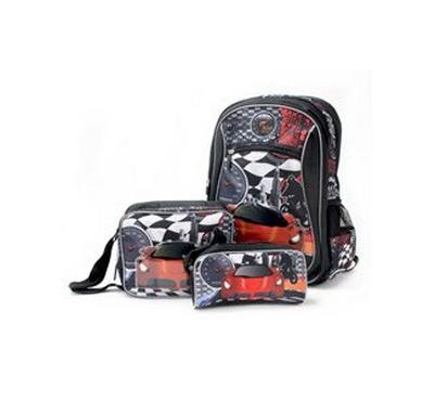 Nice 18 Inches Backpack, Lunch Bag, Pencil Bag