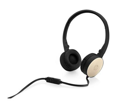HP Stereo Headset H2800, Black w. Silk Gold