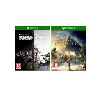 Xbox One Assassins Creed + Rainbow Siege Kit for Xbox one