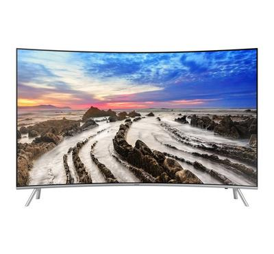 Samsung 55 Inch, 4K, HDR, Smart, Curved TV,MU8500