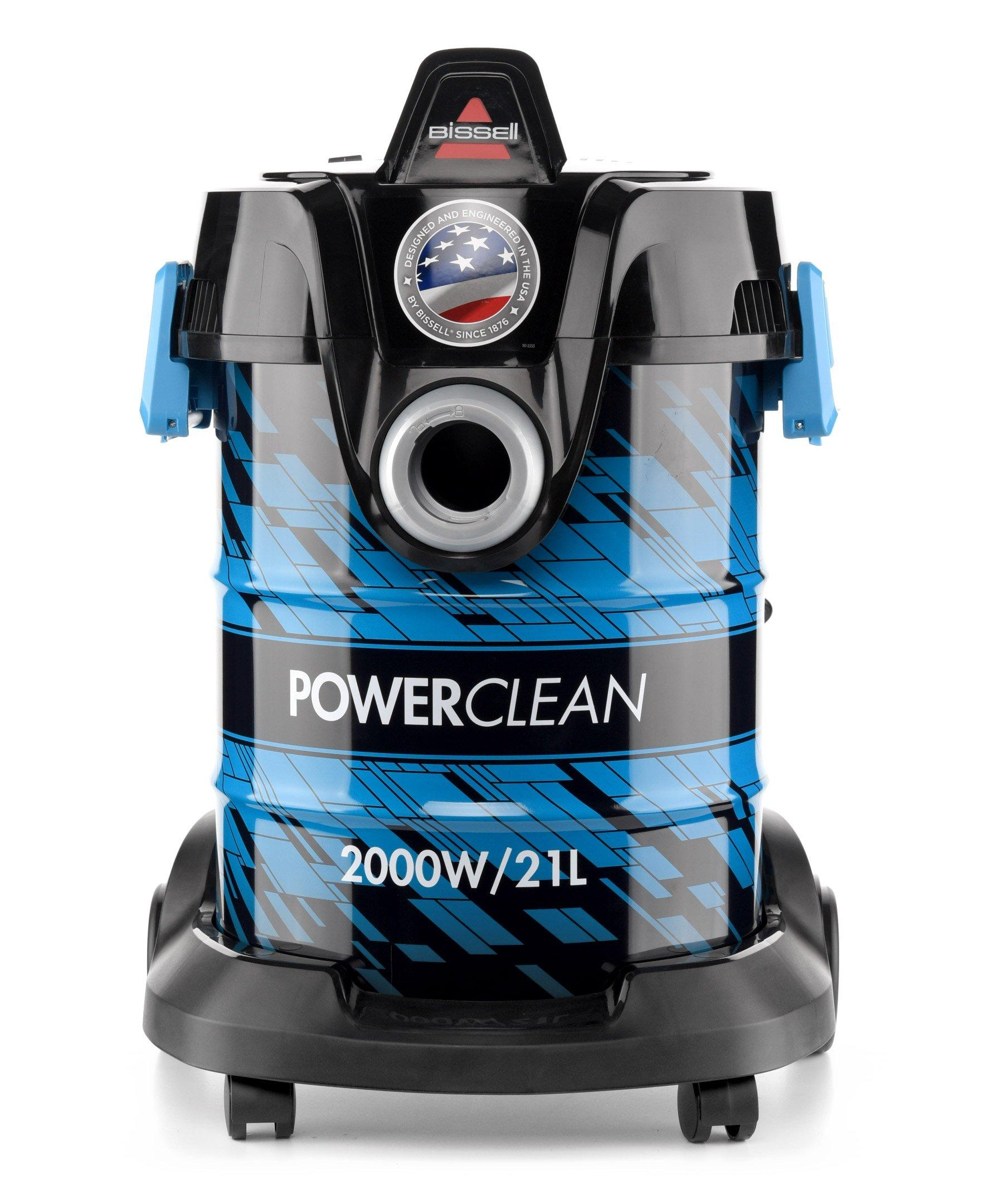 Bissell Power Clean Drum Vacuum Cleaner, 2000W, 21Liter, Weight
