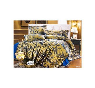 Casa Comfort Set Of 5Pcs, Luxury Jacquard Comforter, Microfiber, King Size