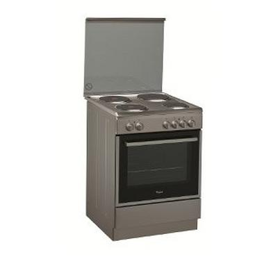 Whirlpool 60x60cm Electric Cooking Range Half Safety Inox
