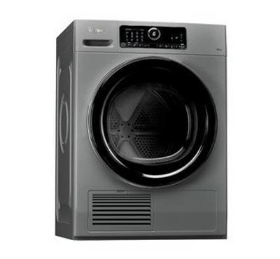 Whirlpool Dryer, Condenser, 10kg, 2700W, Silver