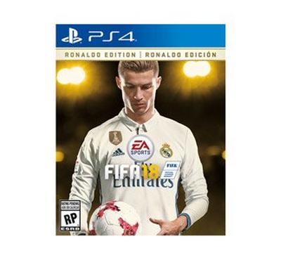 PS4 Game FIFA18 Ronaldo Edition Deluxe PEGI