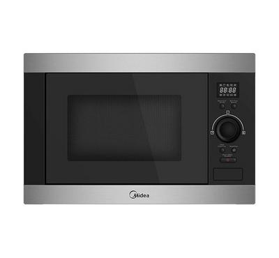 Midea 60cm 25L Built-in Microwave Oven With Grill 900W Black/Stainless Steel