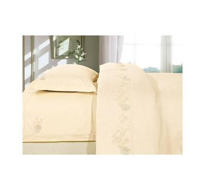 Elite Home Bedlinen Set of 4pcs Yellow Color