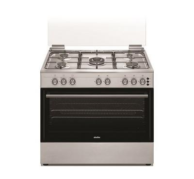 Simfer 90x60cm Gas Cooking Range Full Safety Stainless Steel