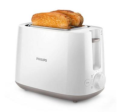 Philips Daily Toaster, Cool Wall, 830W, Removable crum tray