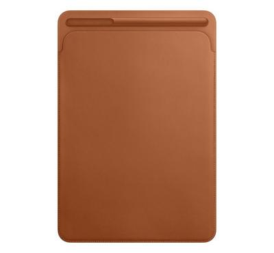 Apple Leather Smart Cover for 10.5-inch iPad Pro, Air 3rd Gen, 7th Gen, Saddle Brown