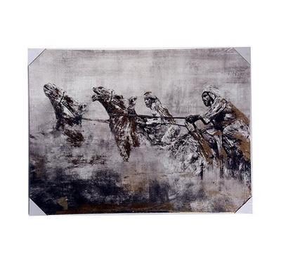 Nice Wall art Men on Camel canvas