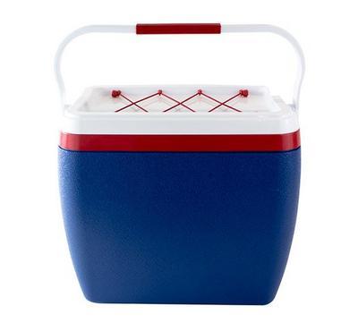 نايس صندوق تبريد سعة 25 لتر لون أزرق