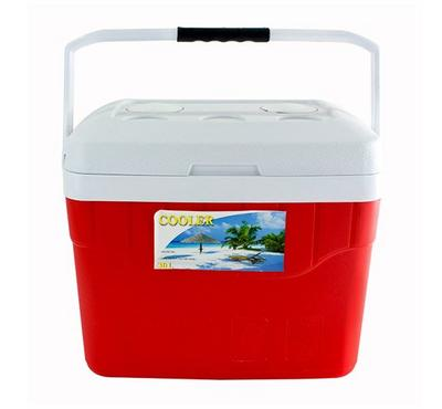 نايس صندوق تبريد سعة 30 لتر لون أحمر