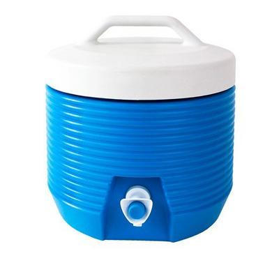 Nice Water Jug  1Gallon  Light Blue/Red