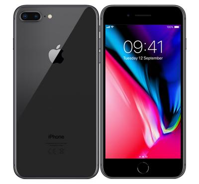 Apple iPhone 8 Plus , 64GB, FaceTime, Space Gray