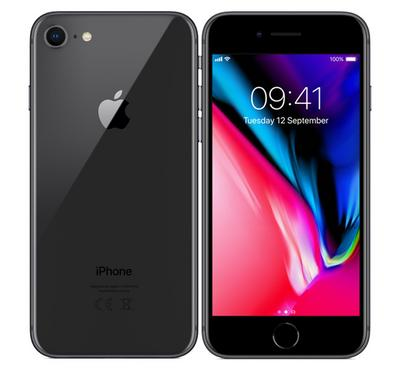 Apple iPhone 8 , 64GB, Grey
