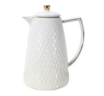 Dallety Porcelain Vacuum Flask White