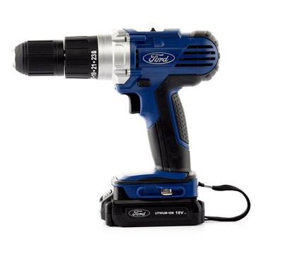 Ford Cordless Drill / Screwdrivewr 18V, Quick Charger 1 Hour, Keyless Chuck 013mm