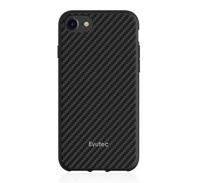 Evutec AER Series iPhone 8 Back Cover Carbon Black